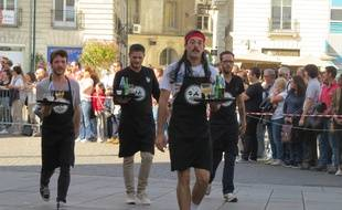 La course des garçons de café à Nantes