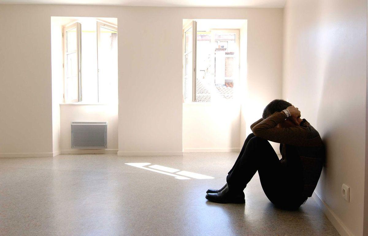 Illustration d'un homme en souffrance. – JAUBERT/SIPA