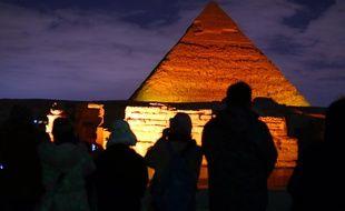 Le site de Gizeh, en Egypte, le 23 janvier 2020.