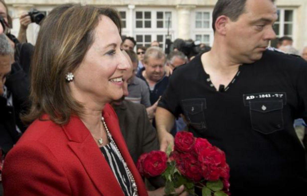 Ségolène Royal à La Rochelle, le 17 juin 2012, au soir du second tour des législatives. – NOSSANT/ SIPA