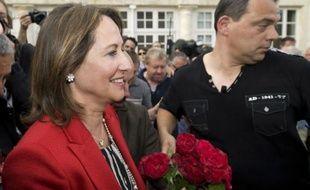 Ségolène Royal à La Rochelle, le 17 juin 2012, au soir du second tour des législatives.