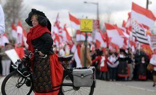 Une manifestation le 13 décembre 2014 en Alsace contre la réforme territoriale.