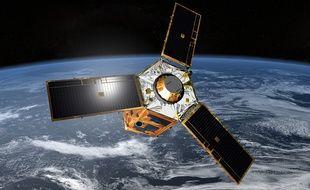 Illustration du satellite Pleiades