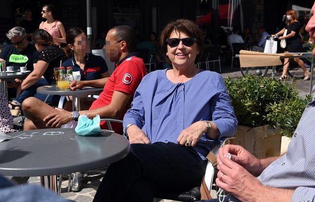 Martine Aubry, maire (PS) de Lille et candidate à sa succession, lors de la campagne des municipales 2020.