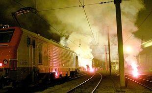 Des pétards - fumigène sur les voies SNCF ont entraîne de nombreux retards ce mardi matin près de Toulouse.