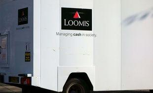 Les braqueurs avaient pris pour cible un fourgon de la société Loomis (illustration).