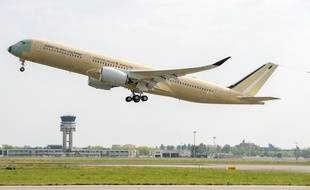 Le premier A350 ultra longue distance de  a fait son premier vol commercial le 23 avril.