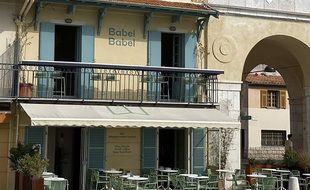 Le restaurant Babel babel, sur le quai des États-Unis à Nice.