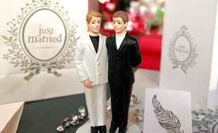 Mariage pour tous. Illustration.