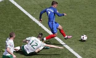 Antoine Griezmann a désossé l'Irlande à lui tout seul en huitièmes de finale.