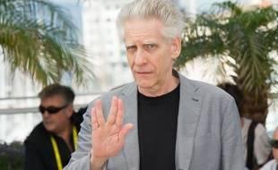 Le réalisateur David Cronenberg le 25 mai 2012 à Cannes.