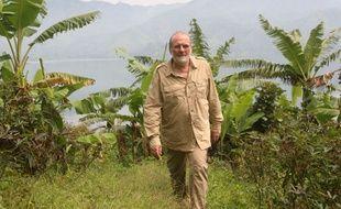 Jean-Pierre Blanc, directeur général de Malongo, en 2012 en République démocratique du Congo.