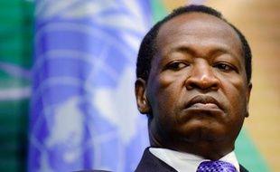 Le président déchu du Burkina Faso, Blaise Compaoré, le 12 novembre 2014
