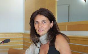 Marseille, le 8 juillet 2015, Christine Cabau Woehrel, présidente du directoire du port de Marseille.