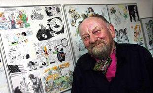 Le caricaturiste danois Kurt Westergaard, notamment auteur des caricatures polémiques de Mahomet, le 15 septembre 2006.