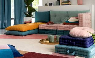 Retrouvez de nombreux produits maison avec la nouvelle collection La Redoute et la couleur jaune à l'honneur pour le printemps.