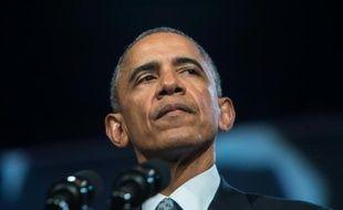 Barack Obama, le 27 octobre 2015, à Chicago