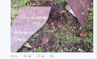 La plaque en hommage à Mehdi Ben Barka, ancien chef de l'opposition au régime marocain, posée àGennevilliers (Hauts-de-Seine), a été découverte profanée.