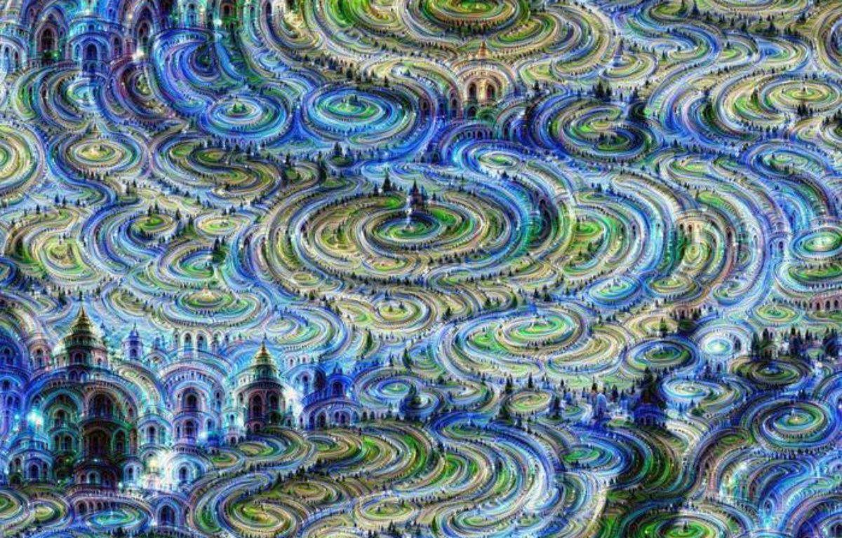 Voici à quoi ressemble une image créée grâce à l'intelligence artificielle. – DEEPDREAM/GOOGLE