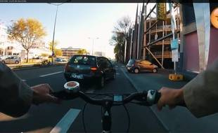 Le film, tourné à Nantes, est réalisé par l'association Place au vélo.