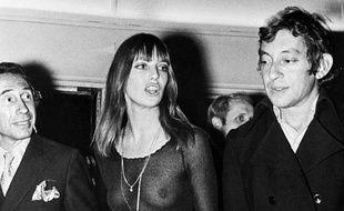 Jane Birkin et Serge Gainsbourg, icônes de ces années érotiques.