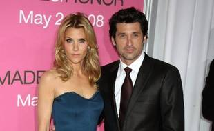 Les époux Jillian et Patrick Dempsey