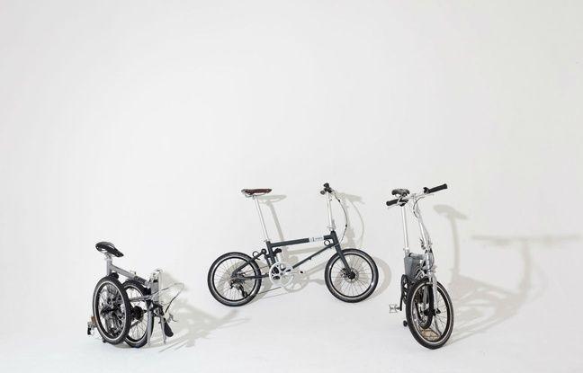 Le Folding Bike se plie et peut nous suivre partout.