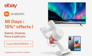 Profitez des réductions Xiaomi pour les Mi Days chez eBay
