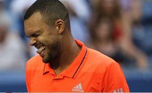 Jo-Wilfried Tsonga, a perdu son quart de finale de l'US Open 2015 contre Marin Cilic en cinq sets.