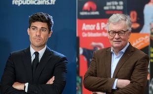 Aurélien Pradié (LR) et Jean-Paul Garraud 5RN), deux candidats aux élections régionales, ont eu une vive altercation en marge d'une émission politique de France 3 Occitanie.