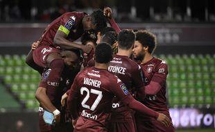 Les joueurs du FC Metz (illustration).