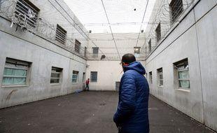 Un centre de rétention à Marseille, en janvier 2014.