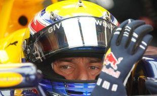 L'Australien Mark Webber prend la pole position au Grand Prix de Turquie, le 29 mai 2010
