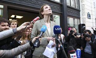 Nathalie Kosciusko-Morizet a remporté la primaire à Paris avec 58% des voix, le 3 juin 2013.