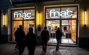 Un magasin Fnac à Lille le 27 octobre 2015