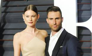 Les époux Behati Prinsloo et Adam Levine