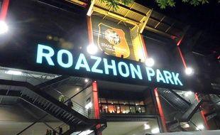 Le Roazhon Park lors de son inauguration officielle, le 18 septembre 2015.