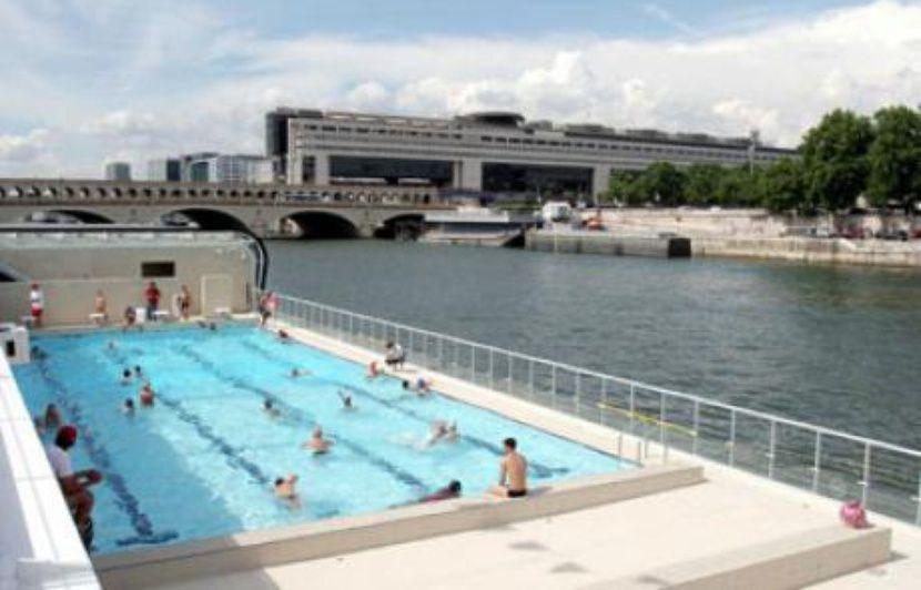 Genial La Piscine Sur La Seine