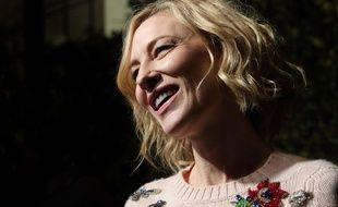 Cate Blanchett à Londres le 3 décembre 2017.