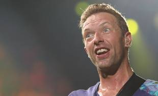 Le chanteur de Coldplay Chris Martin