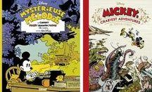 Les deux premiers volumes de «Mickey vu par...»