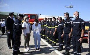 La ministre des Mers Annick Girardin et la ministre de la Transition écologique, Barbara Pompili, ont fait le déplacement en Corse pour l'occasion