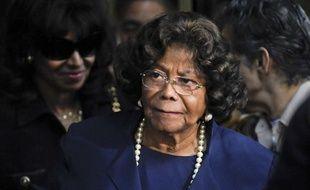 La mère de Michael Jackson, Katherine Jackson, après le verdict concernant  la responsablilité de Conrad Murray dans la mort de son fils, le 29 novembre 2011 à Los Angeles.
