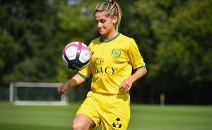 Anaïs Messager, une des recrues phare du FC Nantes version féminine.