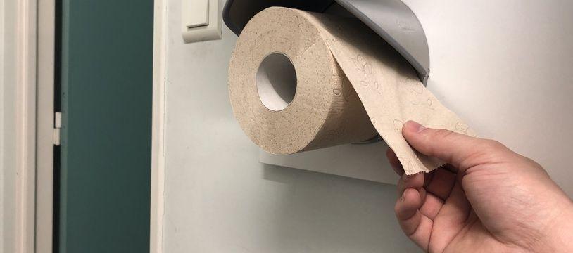 Papier toilette en briques alimentaires recyclées Grazie Natural de Lucart.