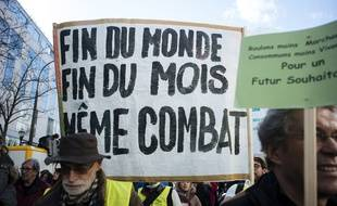 La «Marche du Siècle» a mobilisé en France entre 145.000 et 350.000 personnes, selon le chiffre du ministère de l'Intérieur ou celui des organisateurs, le 16 mars 2019.