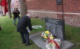 L'ancien mémorial rénové en avril 2016.