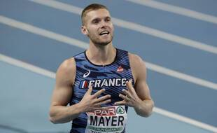 Kevin Mayer is in the place