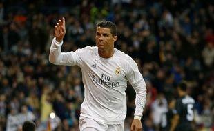 Cristiano Ronaldo célèbre un but contre Séville le 20 mars 2016.