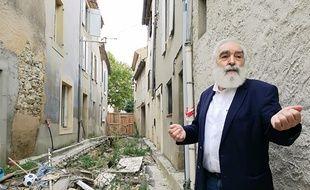Michel Proust, le maire (PS) de Villegailhenc, un an après les inondations qui ont endeuillé l'Aude.